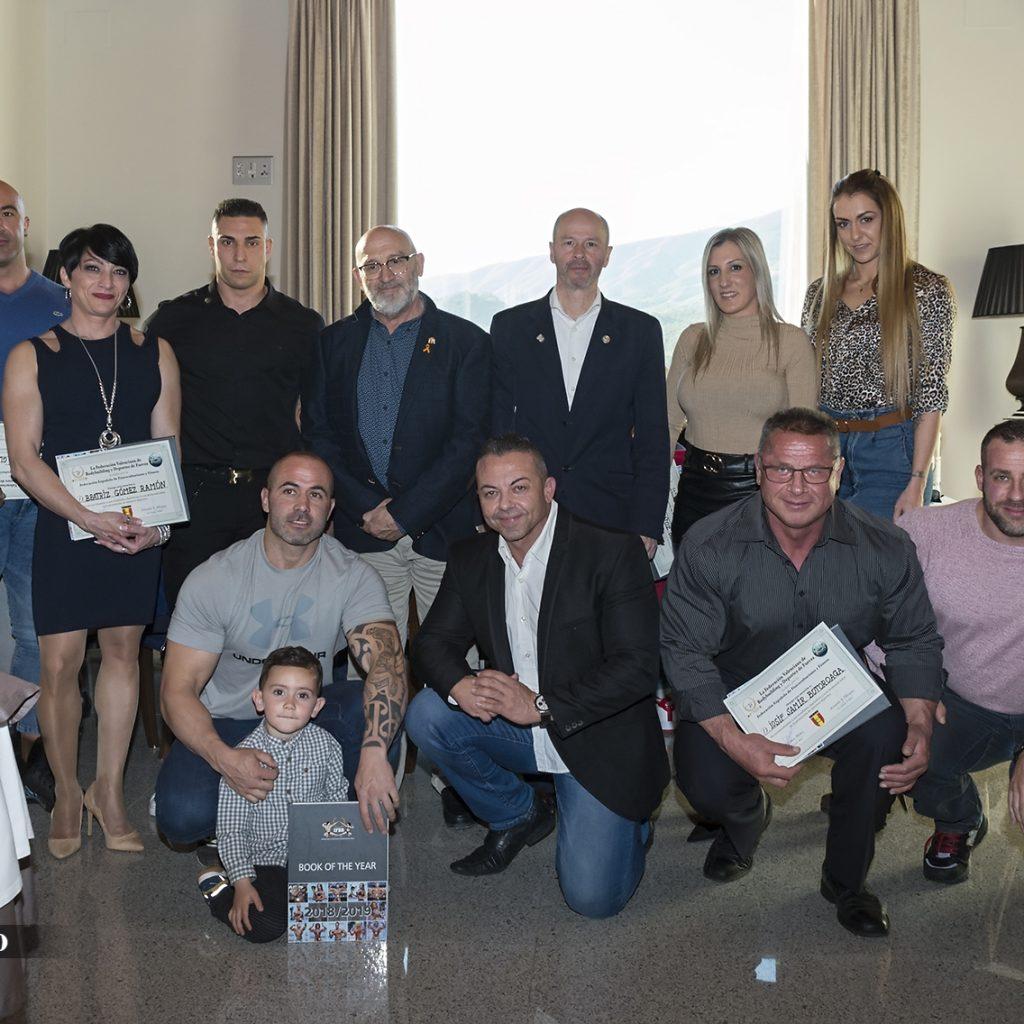 HOMENAJE DE LA FVBDF A SUS MEJORES ATLETAS INTERNACIONALES 2019