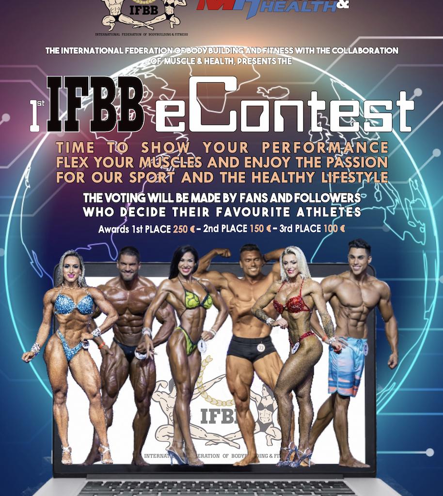 IFBB eCONTEST: CÓMO COMPETIR (Y PUNTUAR) DESDE CASA.