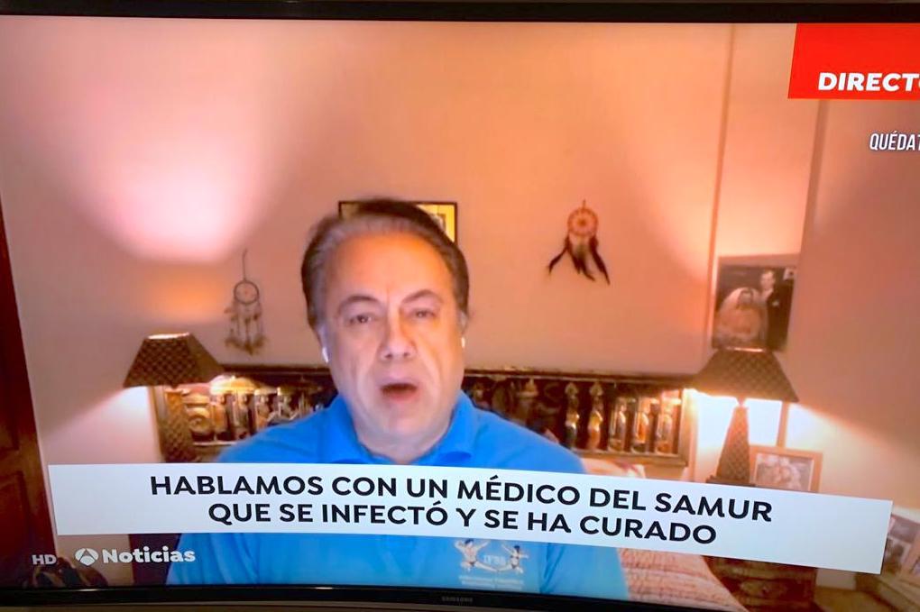EL DR. MORAN SUPERA EL COVID-19.