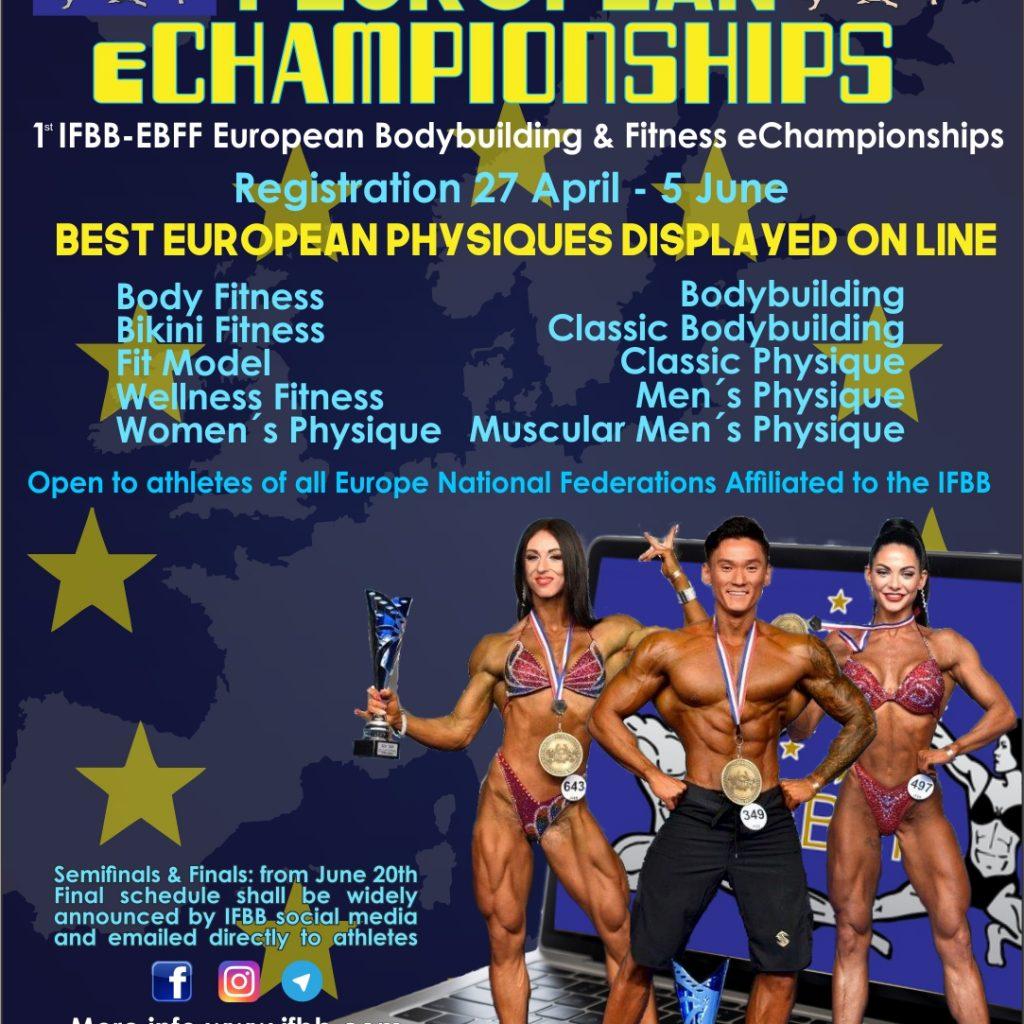IFBB eCONTEST vs. IFBB eCHAMPIONSHIPS: DIFERENCIAS