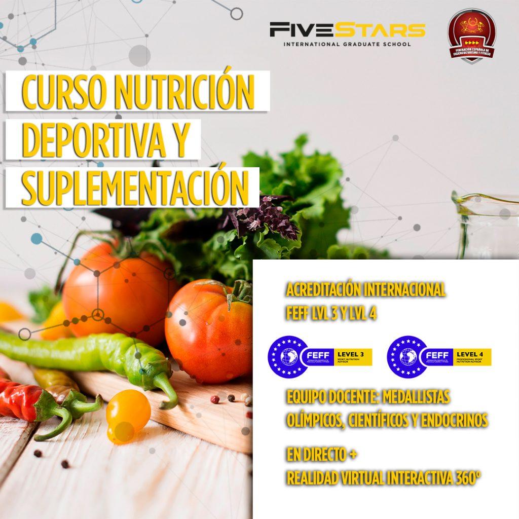 NUEVOS CURSOS DE NUTRICIÓN Y ENTRENADOR PERSONAL