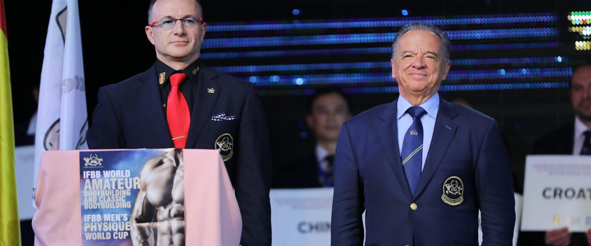 BENIDORM ACOGERÁ LOS CAMPEONATOS DEL MUNDO IFBB 2020