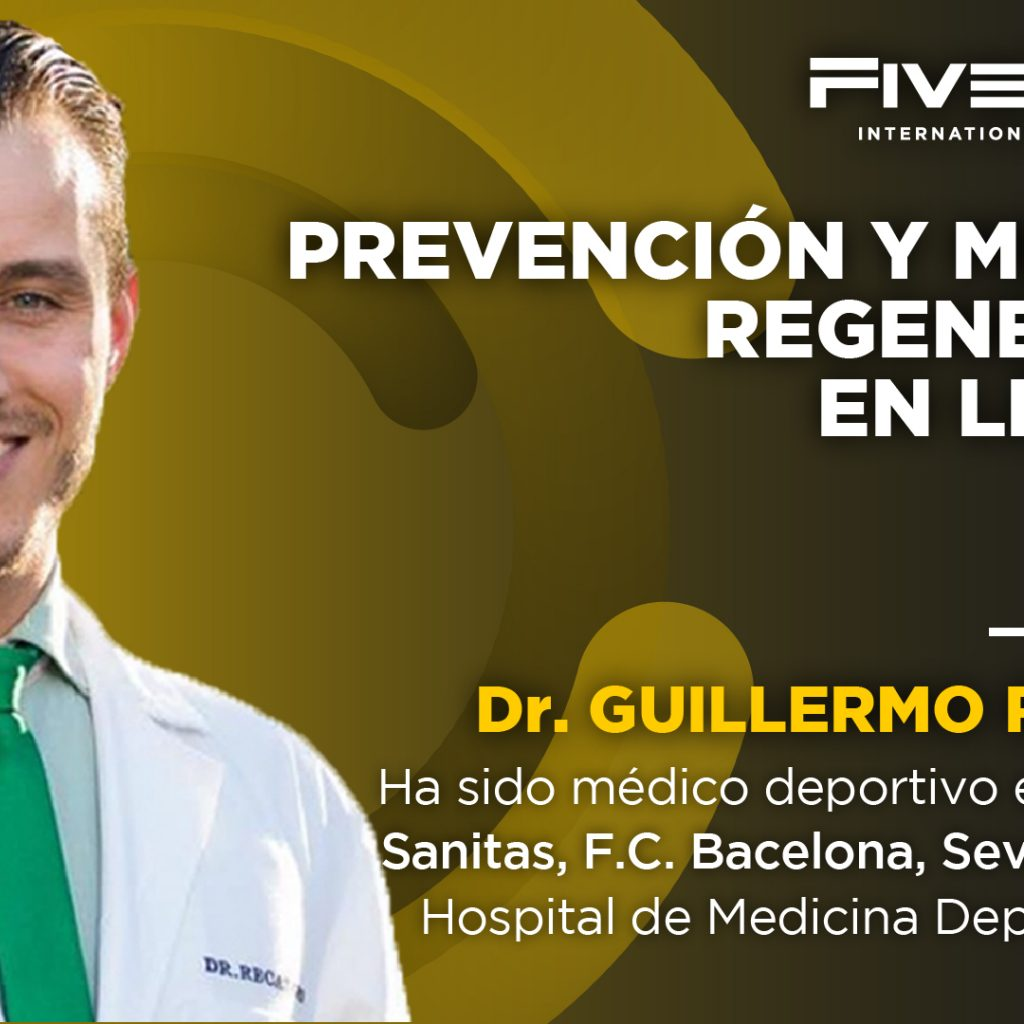 SEMINARIO DEL DR. RECATERO SOBRE MEDICINA REGENERATIVA DE LESIONES