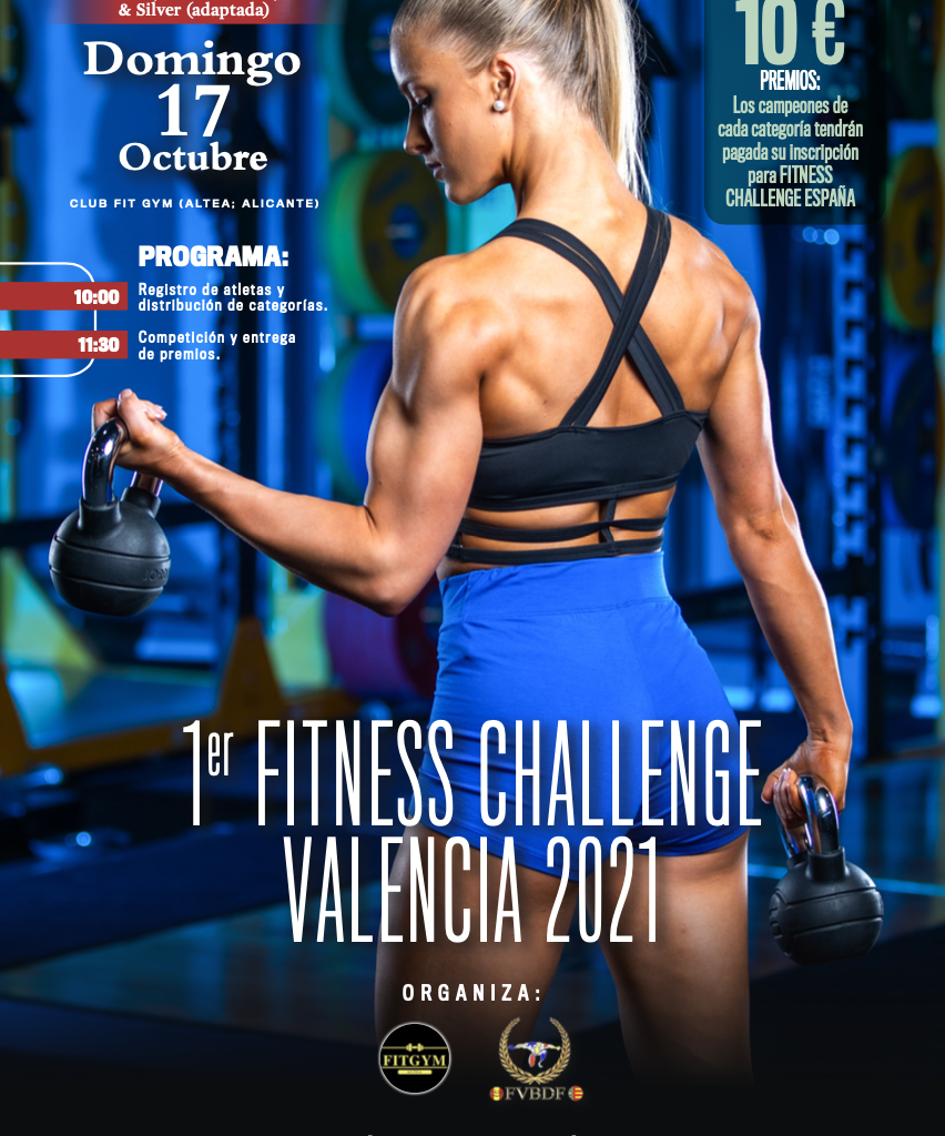 1º FITNESS CHALLENGE VALENCIA