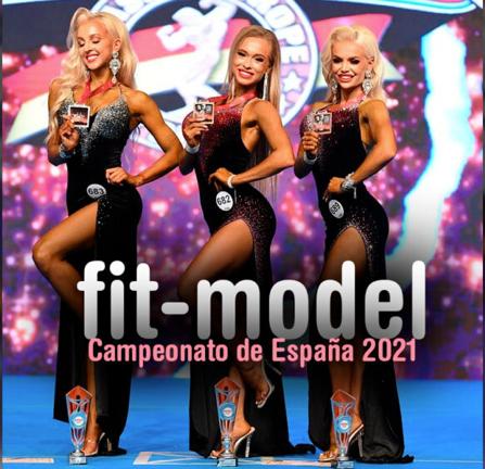 CONFIRMADO: FIT MODEL EN LOS CAMPEONATOS DE ESPAÑA 2021