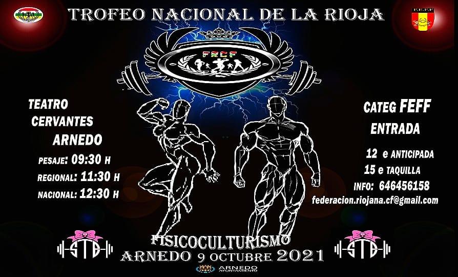"""INSCRIPCIONES ABIERTAS """"V TROFEO NACIONAL DE LA RIOJA 2021"""":"""